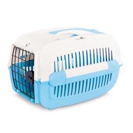 Transportēšanas kaste dzīvniekiem Pet Inn 48x33x32cm, zila