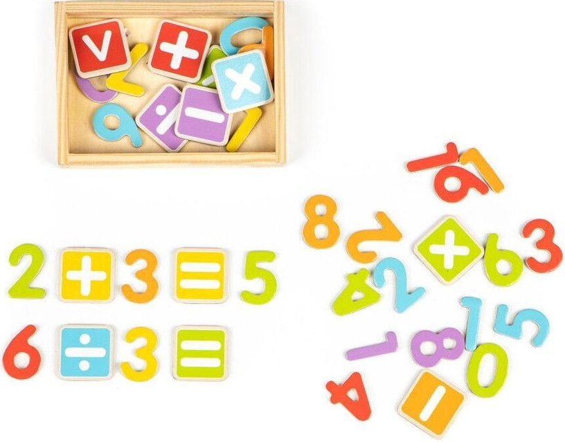 EcoToys Magnetic Letters And Digits Set