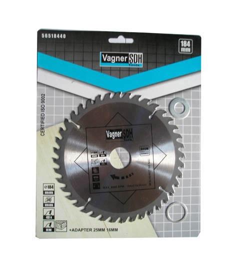 Diskinis medienos pjūklas Vagner SDH, 25 cm