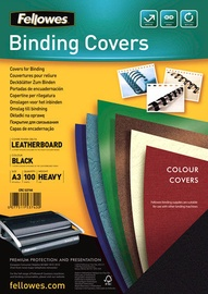 Fellowes Delta A3 FSC Binding Cover Leather Black