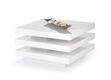 Kafijas galdiņš Halmar Ingrid White, 800x800x450 mm