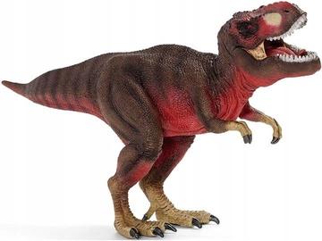 Žaislinė figūrėlė Schleich Dinosaurs Tyrannosaurus Rex Red 72068