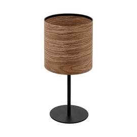 Eglo Cannasca Table Light 40W E27 Black/Wood