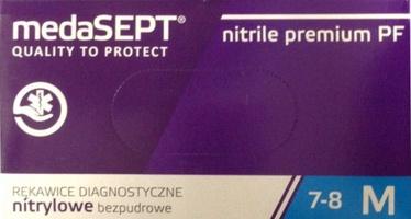 MedaSEPT  Nitrile Gloves Premium M 100pcs Blue