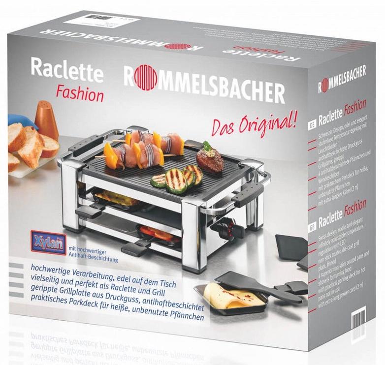 Elektrinis grilis Rommelsbacher Raclette RCC 1000
