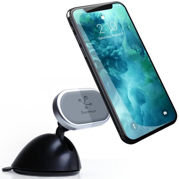 Koomus Dashboard Smartphone Car Mount Black