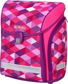 Kuprinė Herlitz Midi Pink Cubes 50022090