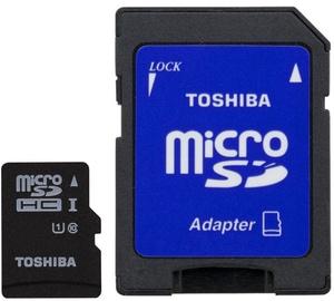 Mälukaart Toshiba 16GB Micro SDHC UHS-I Class 10 + Adapter