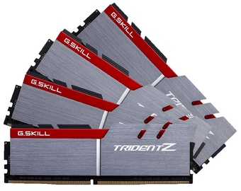 G.SKILL TridentZ 32GB 3400MHz DDR4 CL16 DIMM KIT OF 4 F4-3400C16Q-32GTZ