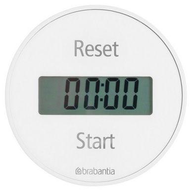 Brabantia Magnetic Kitchen Timer White