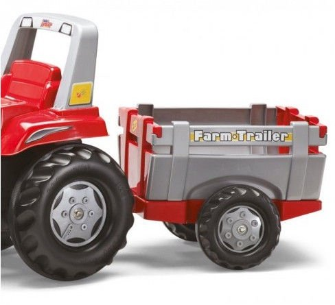 Rolly Toys Junior RT Tractor with Farm Trailer 811397