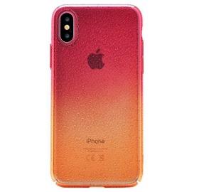 Devia Amber Back Case For Apple iPhone X Orange/Red