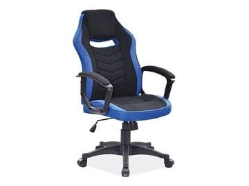 Biroja krēsls Signal Meble Camaro Black/Blue