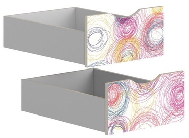 Коробка Black Red White Drawers for Stanford Cabinet Light Grey/Crayon