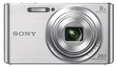 Fotoaparatas Sony DSC-W830S, sidabrinis