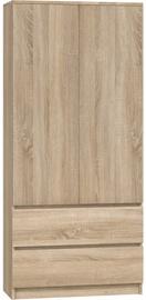 Riidekapp Top E Shop Malwa SS-90, tamm, 90x50x180 cm