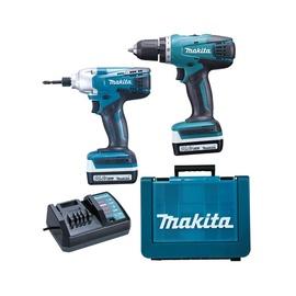 Akutööriistade komplekt Makita DK1497, 14,4 V, 2x1,3 Ah, Li-ioon