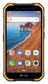 Mobilusis telefonas Ulefone Armor X6 Black Orange, 16 GB
