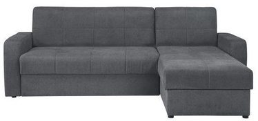 Black Red White Sofa Bed Kirsten III Grey