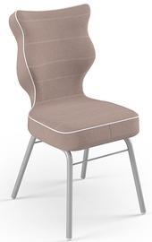 Детский стул Entelo Solo Size 3 JS08, серый/кремовый, 310 мм x 695 мм