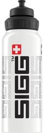 Sigg Water Bottle SIGGnature White 1L