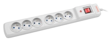 ARMAC Surge Protector 6 Outlet White 1.5m