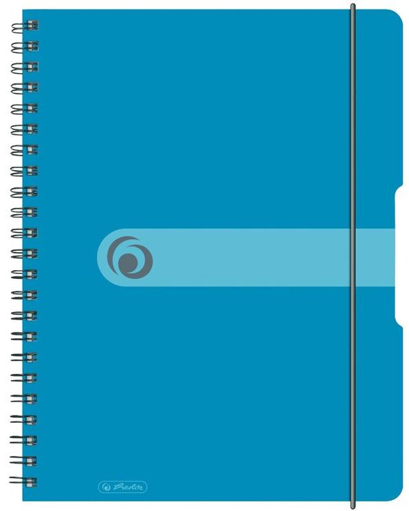 Herlitz Spiral Pad To Go A4 Tranparent Blue 11293610