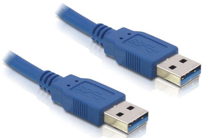 Delock Cable USB / USB Blue 1.5m