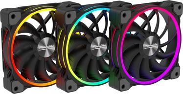 Alpenföhn Wing Boost 3 120mm RGB Black Pack Of 3