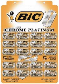 BIC Chrome Platinum Double Edge Blades 20x5pcs