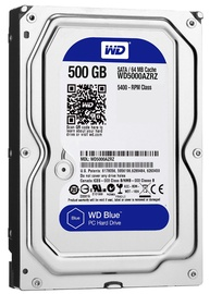 Жесткий диск (HDD) Western Digital WD5000AZRZ, HDD, 500 GB