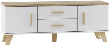 Cama Meble Lotta 180 TV Stand White/Sonoma Oak