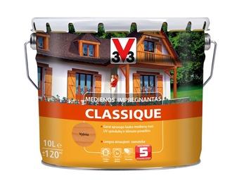 Medienos impregnantas V33 Classique, vyšnios spalvos, 10 l