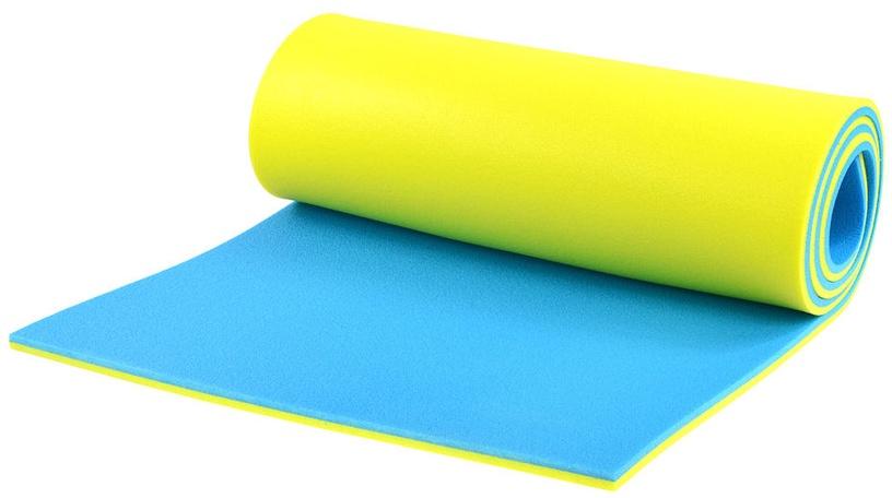 Matracis piepūšams Marba Sport 2 Layer PE Mat Yellow Blue