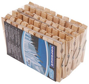Coronet Laundry Pegs Wood 50pcs