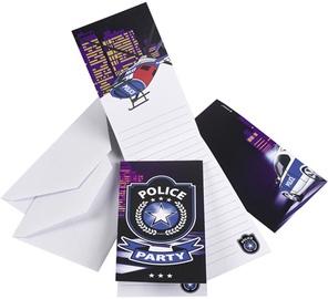 Amscan Police Invitations & Envelopes 998289