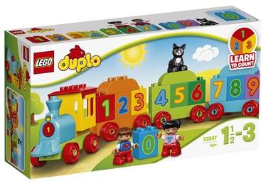 Конструктор LEGO Duplo Поезд «Считай и играй» 10847, 23 шт.