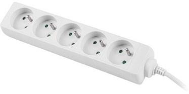 Lanberg Power Strip 3m White PS0-05E-0300-W