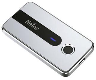 Жесткий диск Netac Z11, SSD, 250 GB, белый