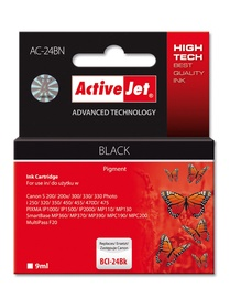 ActiveJet AC-24BK Cartridge 9ml Black