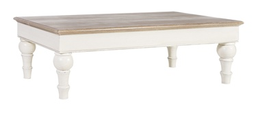 Home4you Samira Wat Coffee Table Antique White/Brown