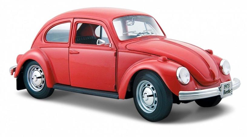 Maisto Volkswagen Beetle Red 1:24