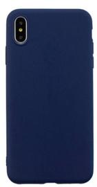 Mocco Ultra Slim Soft Matte Back Case For Samsung Galaxy J6 Plus J610 Blue