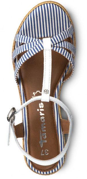 Basutės, Tamaris 1-1-28380-22, White Blue, 39