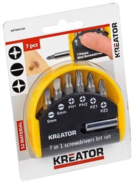 Kreator SL, PZ, PH Bit Set 7pcs
