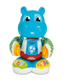 Интерактивная игрушка Clementoni Philip The Dancing Hippo Toy, EE/LV/LT