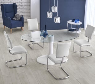 Halmar Dining Table Coral White