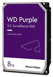 Жесткий диск сервера (HDD) Western Digital Purple Surveillance, 128 МБ, 8 TB