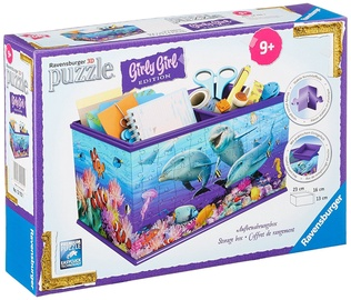 Ravensburger 3D Puzzle Girly Girl Edition Storage Box Undervater 12115