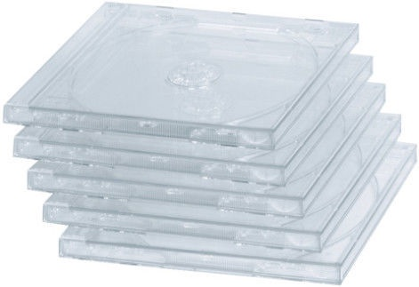 Hama Standard CD Jewel Case 5pcs Transparent